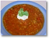 chickpea and tomato soup
