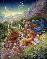 Taurus - by Josephine Wall