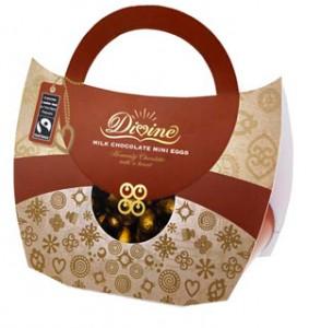 divine chocolate fairtrade easter handbag