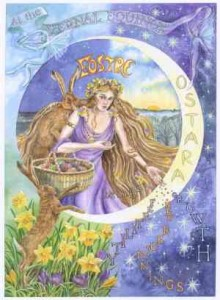 ostara - time for rebirth, renewal and growth