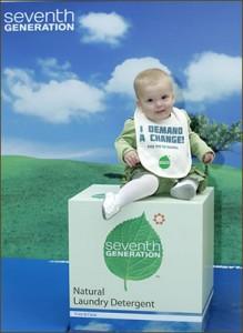 million baby crawl for seventh generation