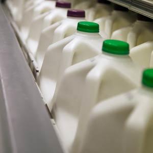 plastic milk jugs and bottles