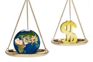 money_versus_environment