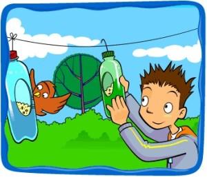 bird-feeder-plastic-bottle-recycled