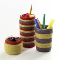 recycled-jam-jar-pen-pot