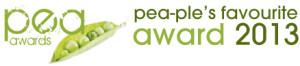 Pea-ples favourite award logo