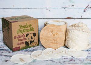 bamboo reusable make up pads _ EcoPanda