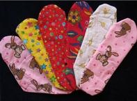 Rachael Hertog's washable pads