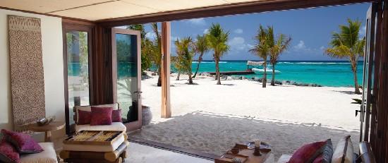 richard branson necker island beach house sustainable