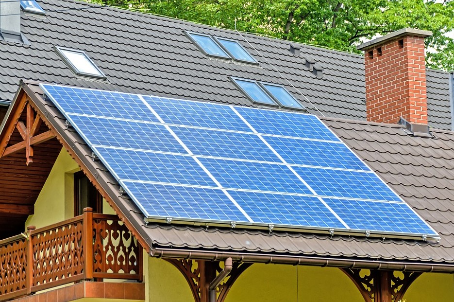 solar panels for eco friendly heating